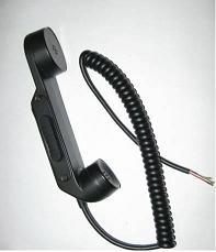 手柄式送受话器
