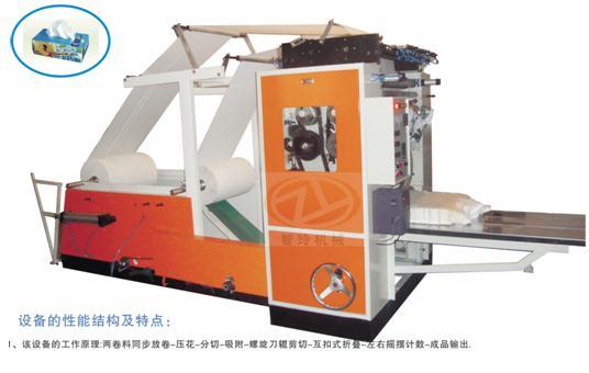ZL-C200型全自動盒裝抽式折疊機