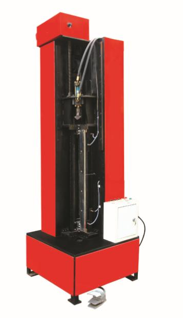 KHF-1500-12 共板法兰风管立式合缝机