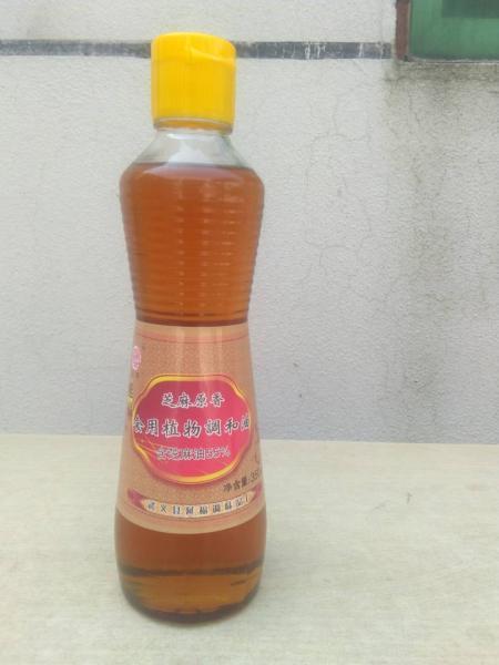 350ml芝麻原香型調和油