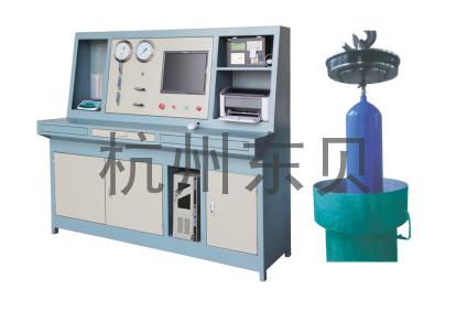 DB-WWS無縫鋼瓶外測法水壓試驗裝置