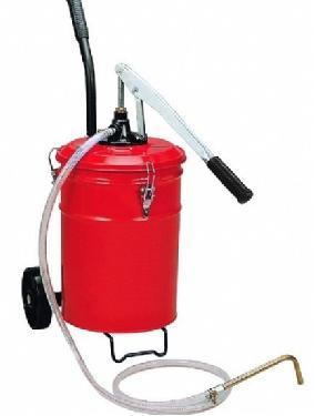 手压机油桶