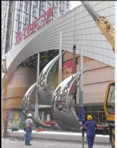 万达广场雕塑
