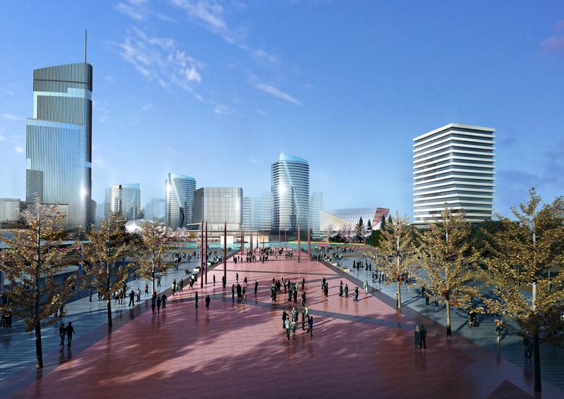 杭州市富阳区杭黄高铁站站前区域城市设计