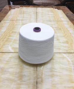 涤粘竹节纱40s