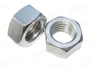 六角鍍鋅螺母