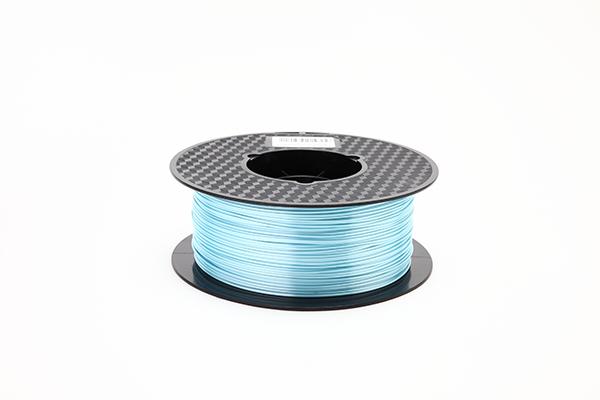 CC3D1号娱乐PLA絲綢耗材 淡藍色