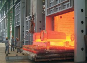 台车式燃气锻造加热炉炉群