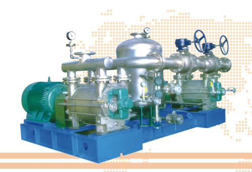 SBE型液环式钛真空泵压缩机组