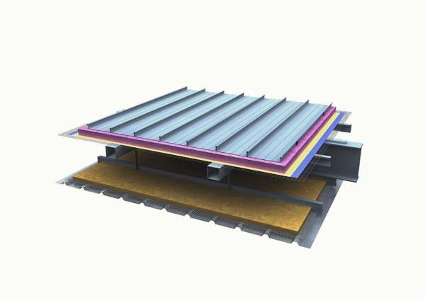 1.铝镁锰金属屋面系统(底板到...