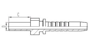 DIN标准公制卡套式直管 [50011]