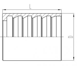 液压软管套筒 [00210]