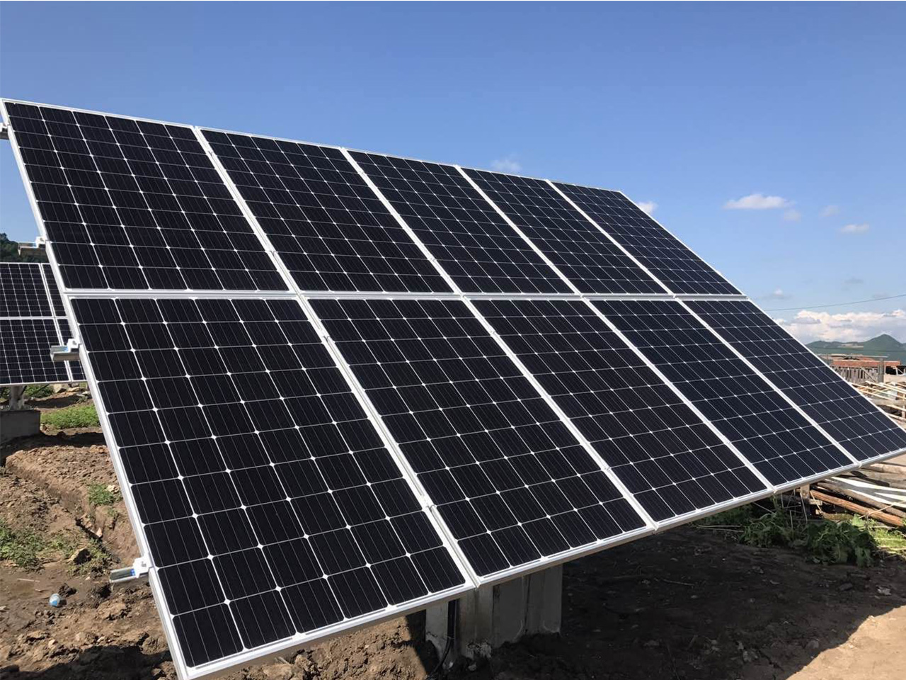 2017.06.20<br/> 72KW grid system of Daxing Village, Chunyang Town, Wangqing County