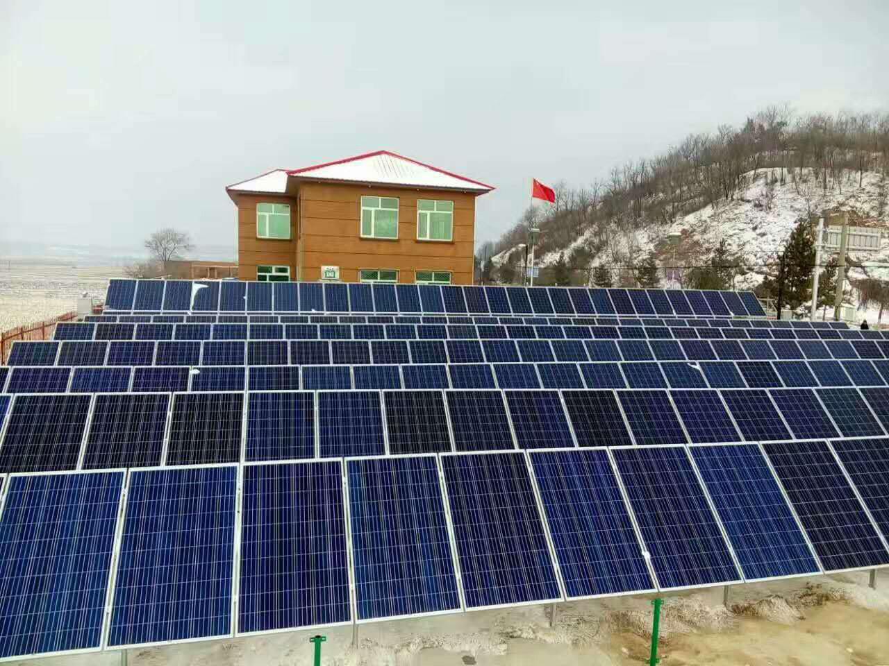 2016.11.7<br/>Yichun 60kw grid project
