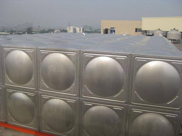 金华不锈钢水箱项目