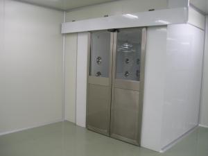 自动平移门冷板喷塑风淋室