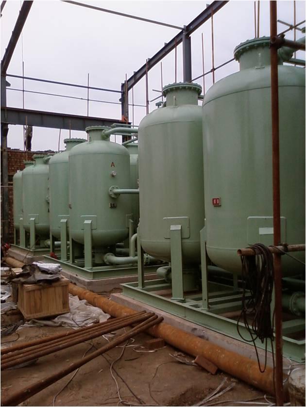 微熱再生干燥器使用現場