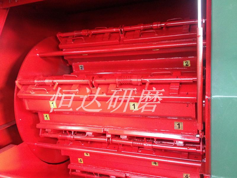 360L雙隔開離心光飾機 內桶
