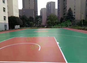 硅PU球场和塑胶跑道