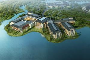 西安丝路国际会展中心项目园林酒店