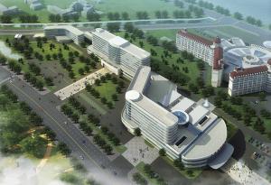 天津市环湖医院迁址新建工程科研综合楼