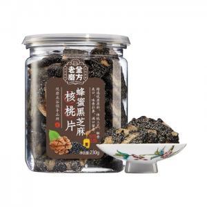 蜂蜜黑芝麻核桃片