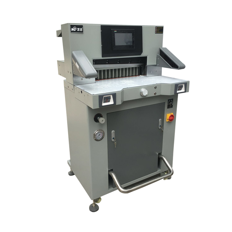 WD-490G Hydraulic Program Paper Cutting Machine