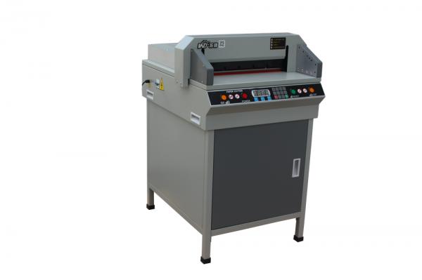万德450VSG+电动数控切纸机