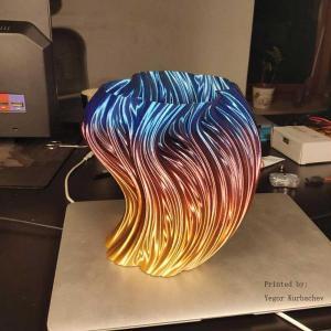 PLA175丝绸彩虹色