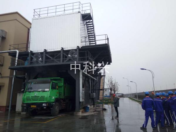 松江污泥处理项目
