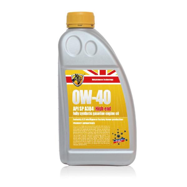 OW-40钼元素高端全合成汽油机油