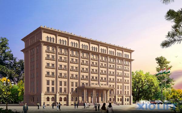 塔吉克斯坦图书馆