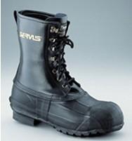 皮质靴面保暖中筒派克靴-美国诺斯A521