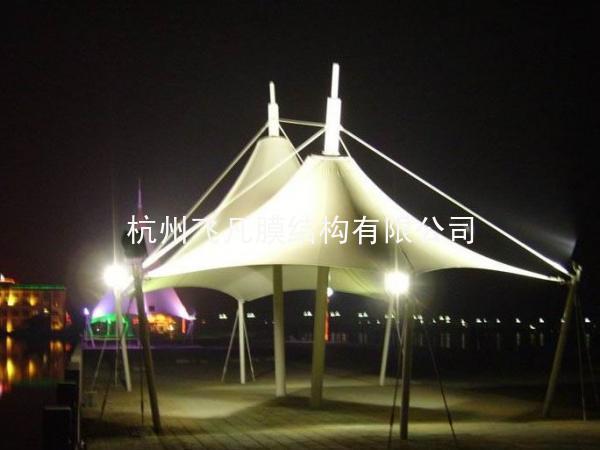 夜景膜结构