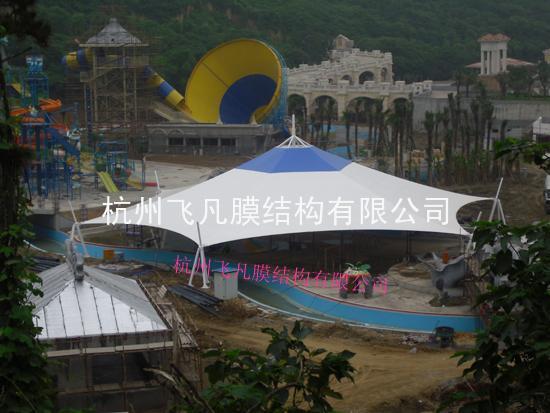 九龙山庄景觀膜实景