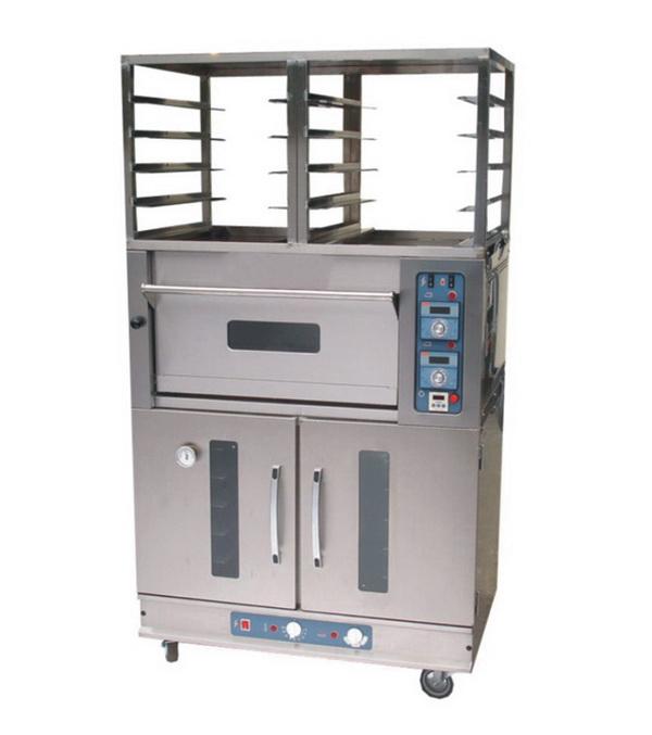 单层电烤箱连架
