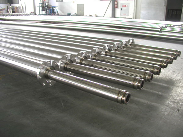 Vacuum infusion tube, heat exchanger